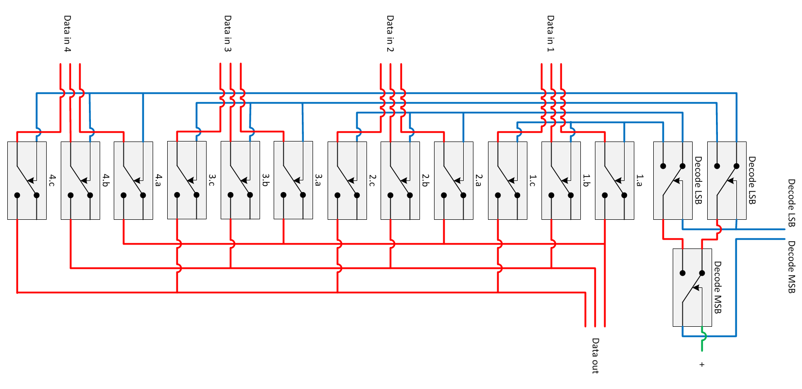 Relay Logic The Simplified And Gate Shown Above Has Two Inputs Switch A Multiplexer Relais